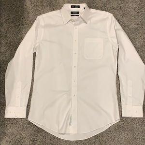 Men's Nordstrom Men's Shop White Dress shirt